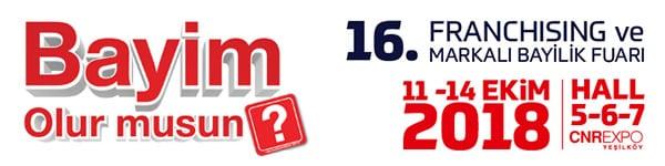 16. Franchising ve Markalı Bayilik Fuarı / CNR EXPO